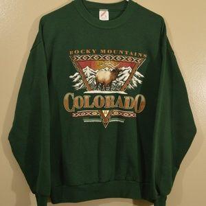 Vintage '94 Colorado Rocky Mountains Nature Animal